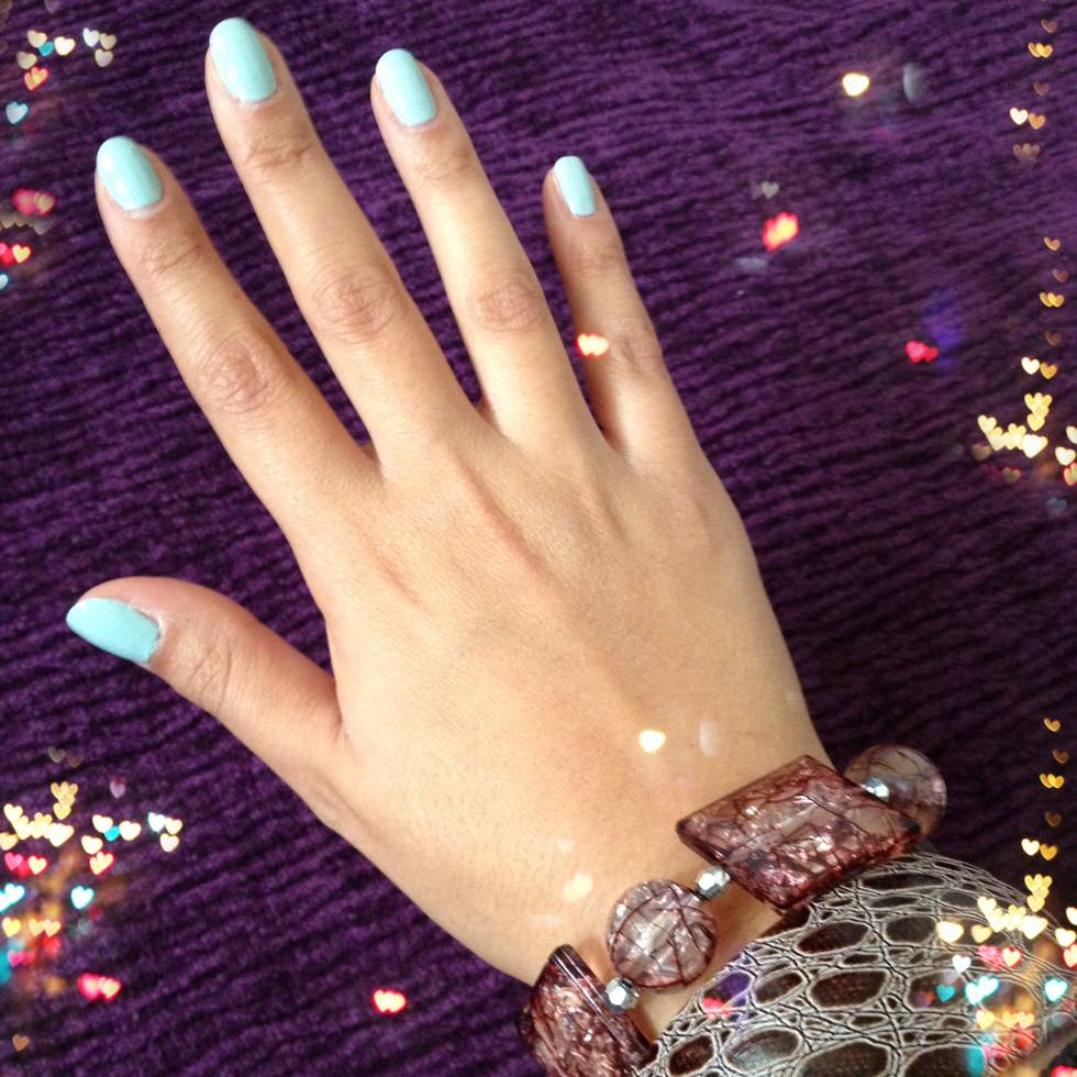 Fashion blogger nails of the day