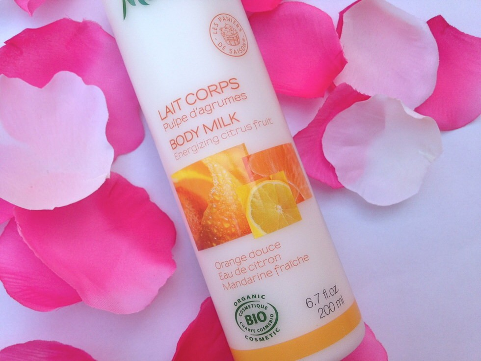 Melvita Citrus Body Milk