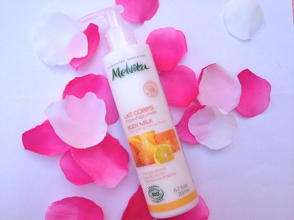 Melvita Citrus Body Milk
