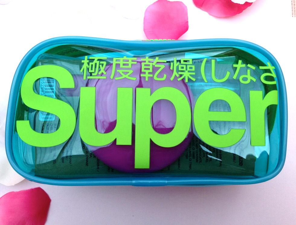 Superdry Makeup Bag