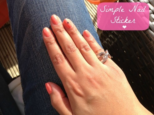Simple Nail Stickers
