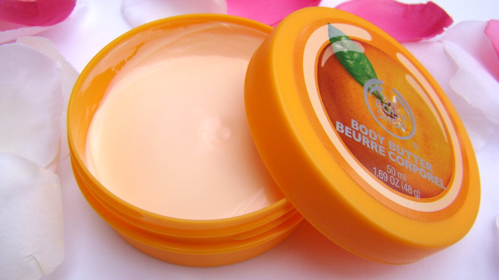 Satsuma Body Butter The Body Shop