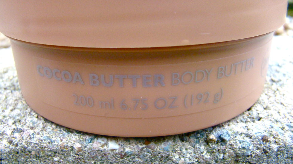 Body Shop Cocoa Butter Body Butter