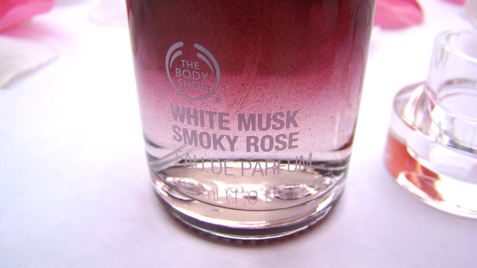Body Shop White Musk Smoky Rose