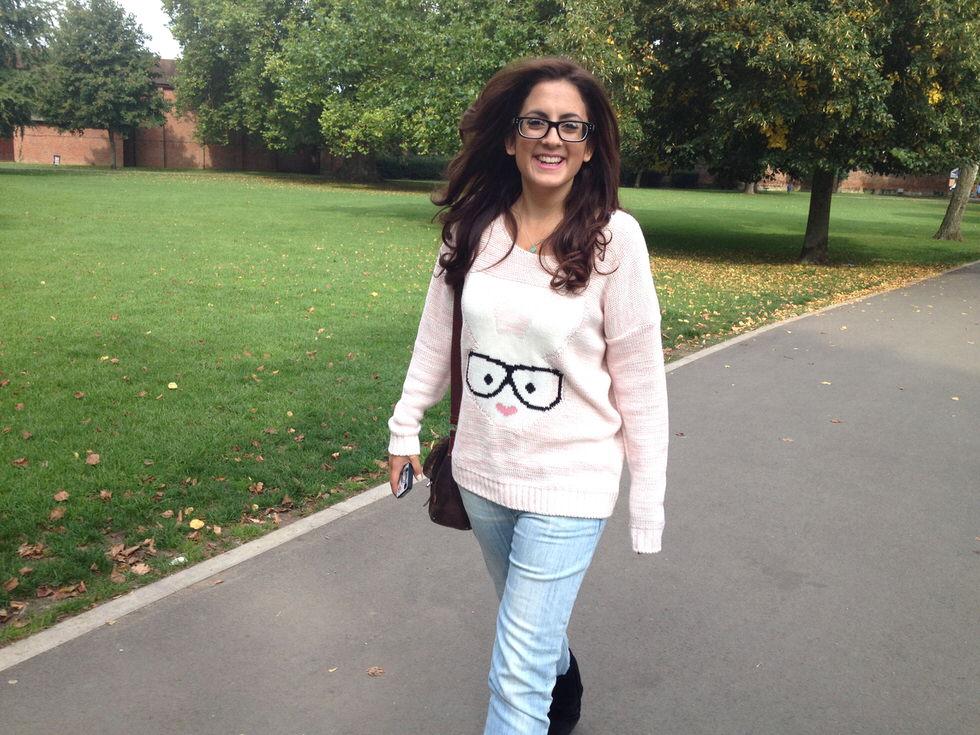 Rabbit Sweater - Fashion Blogger