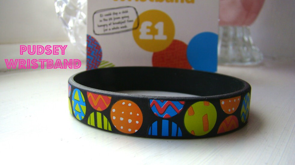 Pudsey Wristband