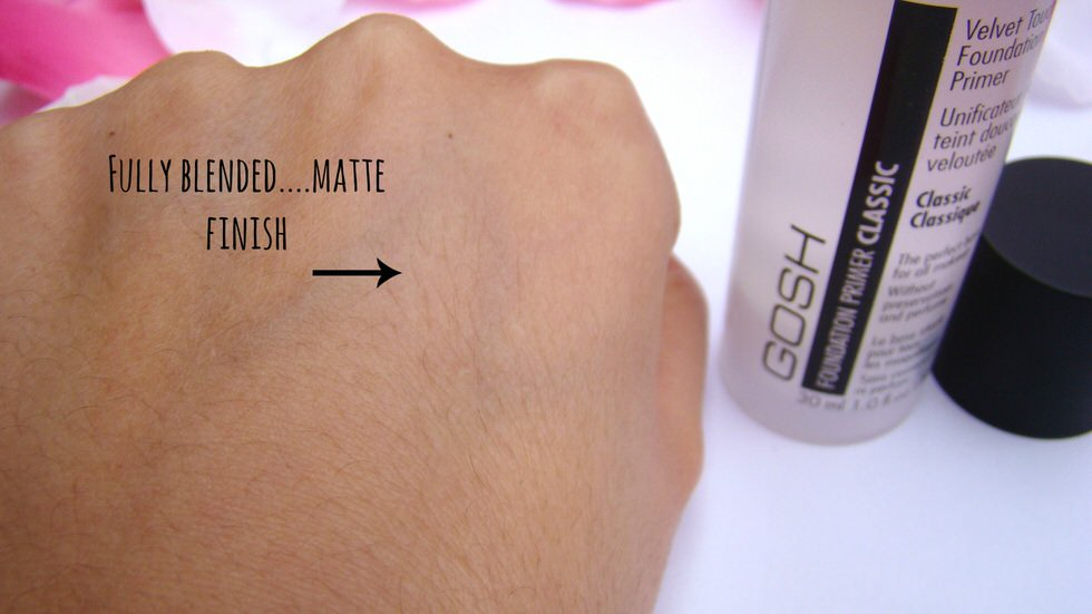 Gosh Foundation Primer Classic Swatch
