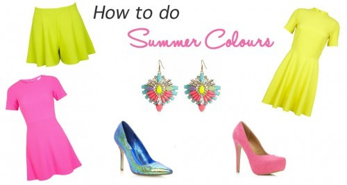 How To – Summer Colours