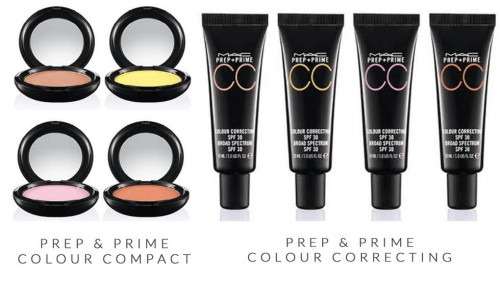 MAC Prep and Prime CC Colour Correct Collection Spring 2014