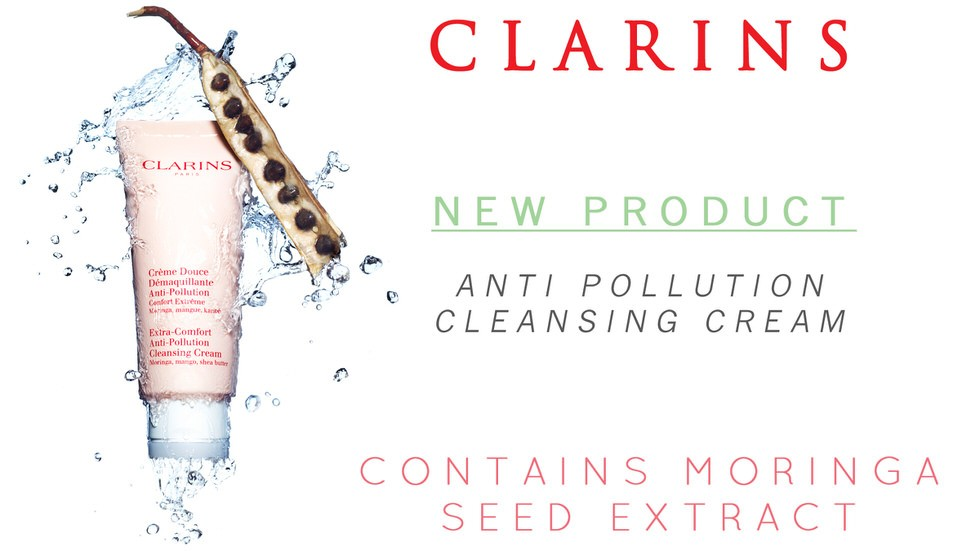 clarins anti pollution cleansing cream sprinkles of style. Black Bedroom Furniture Sets. Home Design Ideas