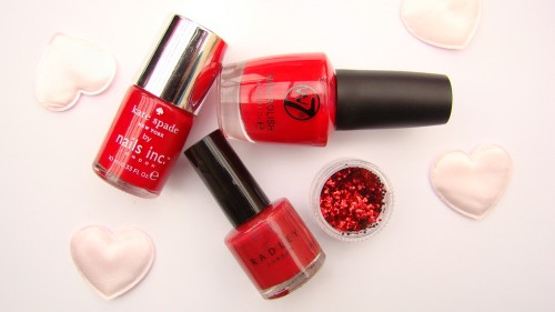 Red Nail Polish – Valentines Special