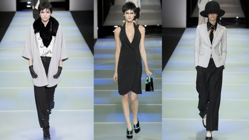 Emporio Armani Milan Fashion Week