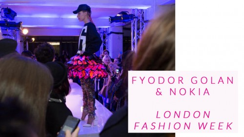 London Fashion Week – Fyodor Golan and Nokia