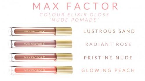 Maxfactor Colour Elixir Gloss Nude Pomade