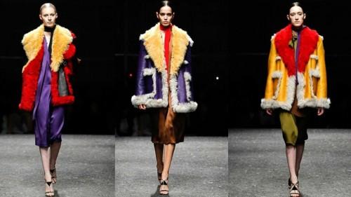 Prada Autumn Winter Milan Fashion Week