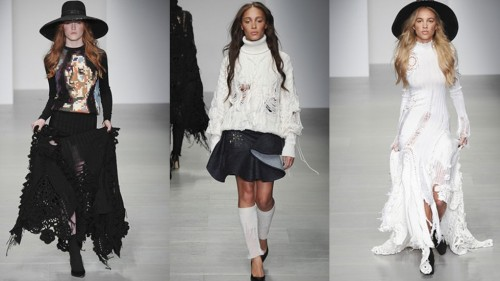 London Fashion Week – Sibling Autumn Winter