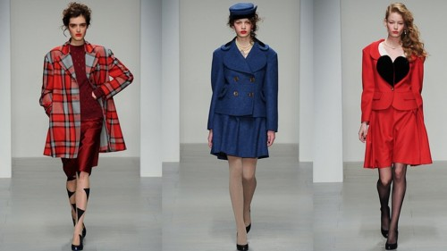 Vivienne Westwood London Fashion Week 2014