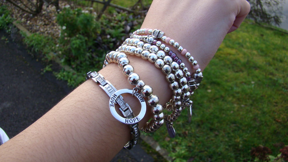 Outfit - Stacked Bracelets