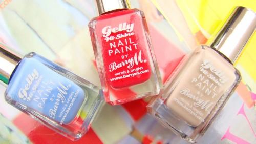 BarryM Gelly Hi-Shine Nail Paint