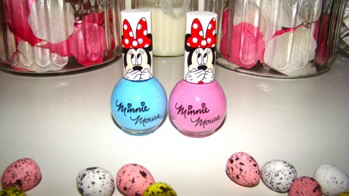Minnie Mouse Nail Polish
