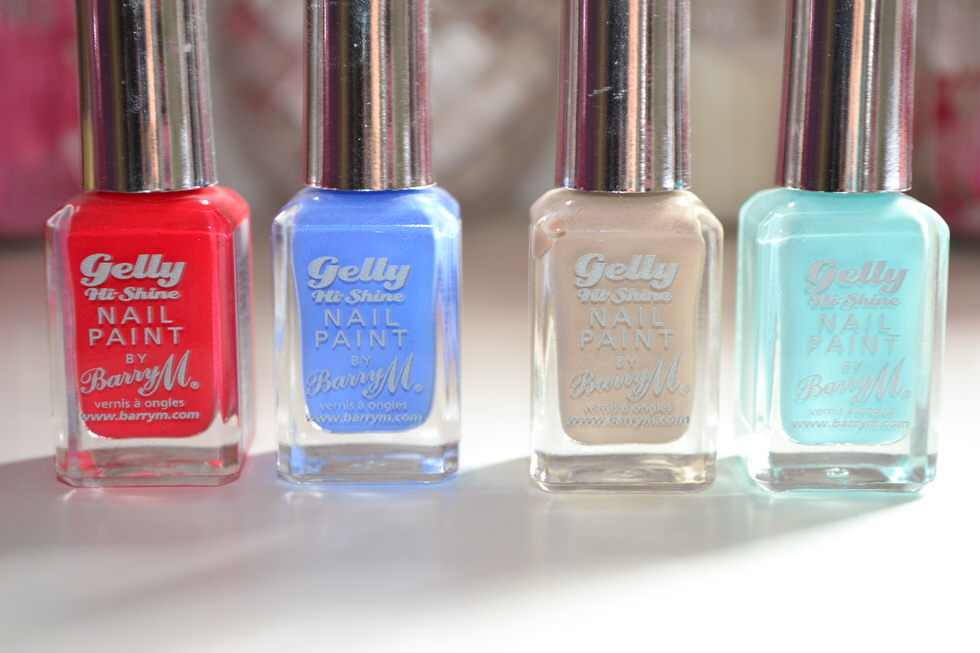 BarryM Gelly Hi Shine Nail Polish