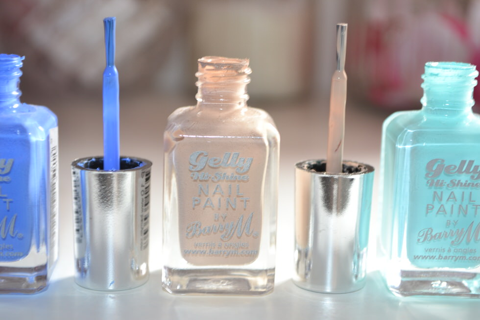 BarryM Gelly Hi Shine Nail Polish Range