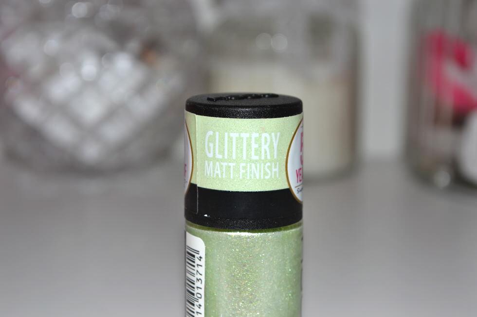 GOSH Glitter Matte Nail Polish