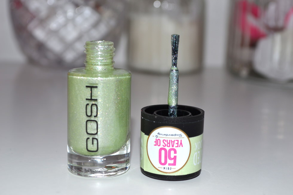 GOSH Frosted Nail Lacquer - Soft Green