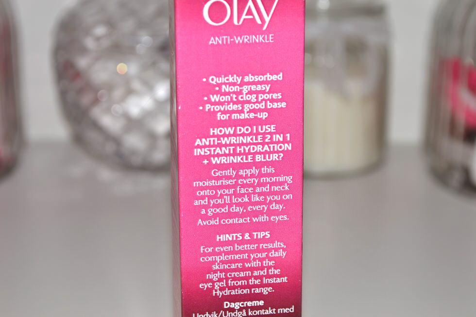 Olay Anti Wrinkle Instant Hydration