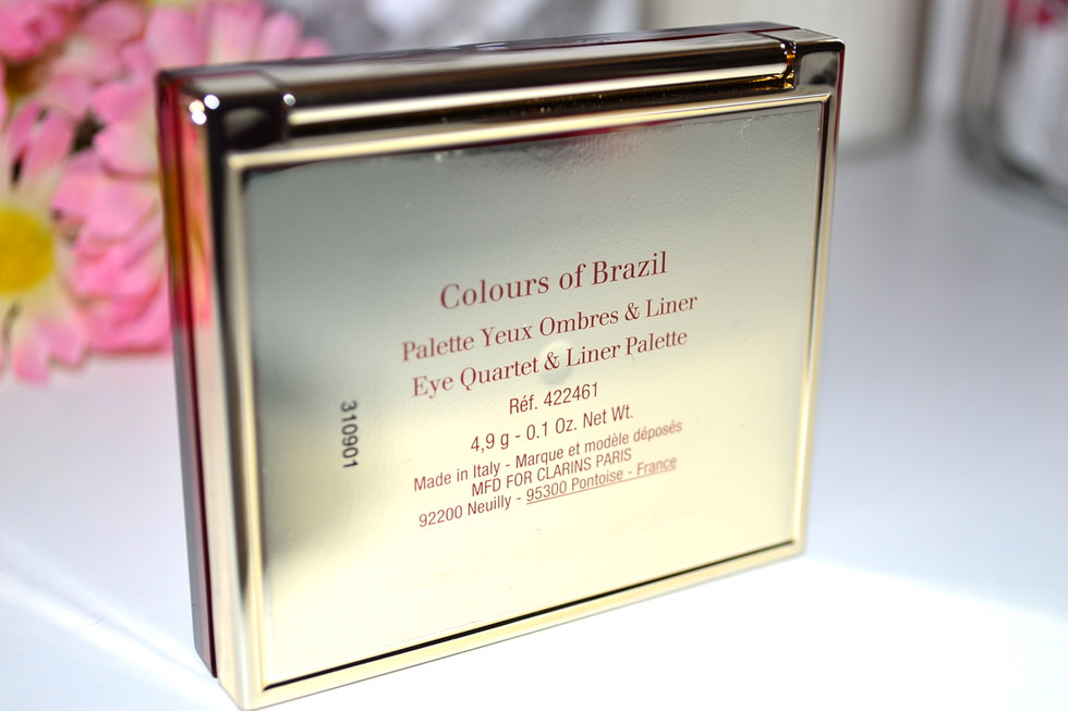 Clarins Colours of Brazil Eye Quartlet & Liner Palette