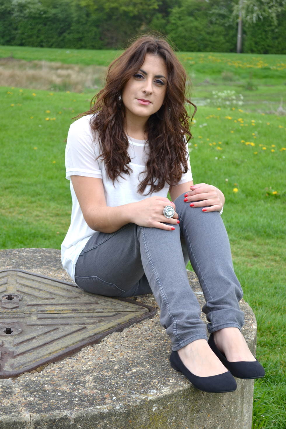 Outfit H&M top and H&M jeans