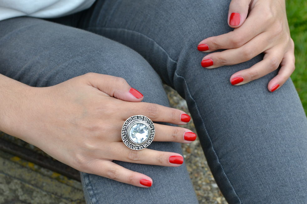 Fashion Outfit Statement Ring