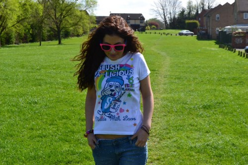 Outfit – Slush Puppie T-Shirt