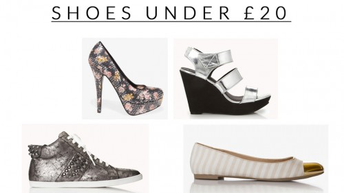 Shoes Under £20