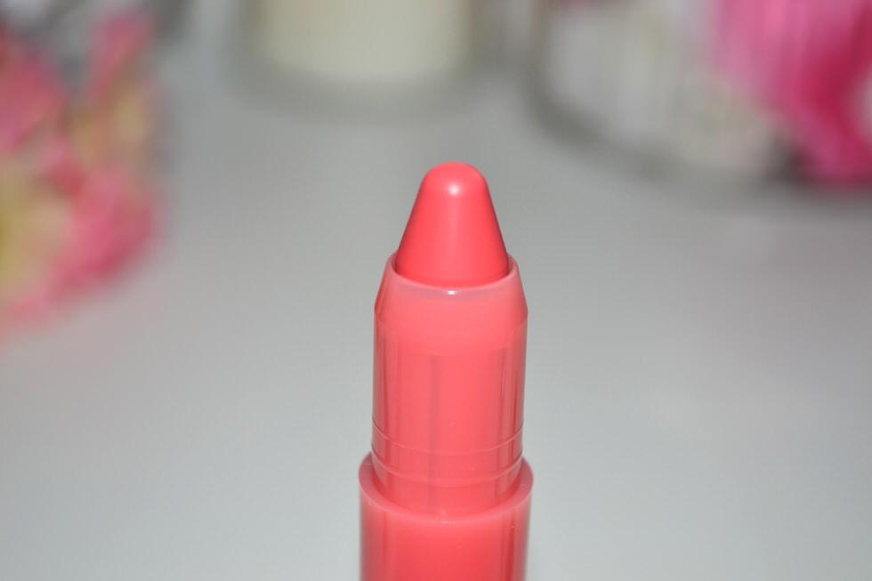 Clarins Lip Balm Crayon swatch