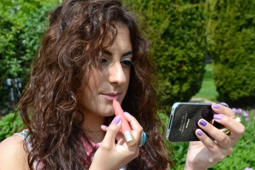 Clarins Lip Balm Crayon – Creamy Pink