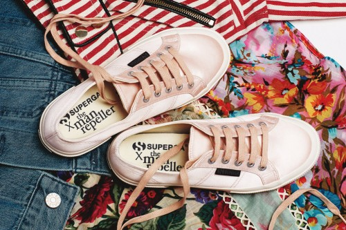 The Man Repeller x Superga Collection