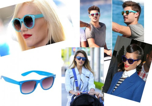 TREND – Blue Sunglasses
