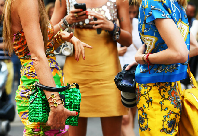 street style bright colours
