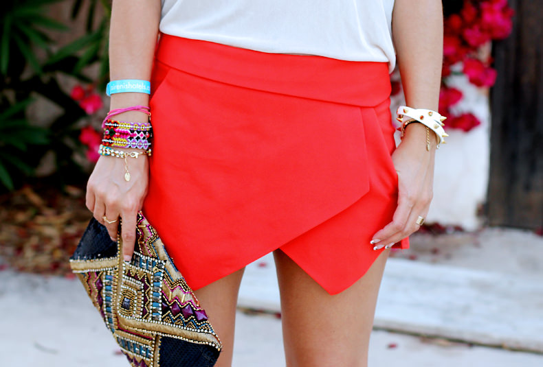 Fashion Blogger Skort