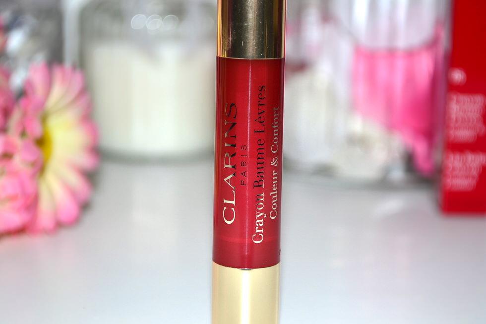 Clarins Lip Balm Crayon - Delicious Plum