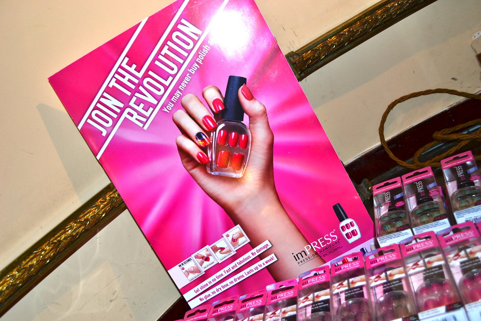 kiss and imPRESS nails press event