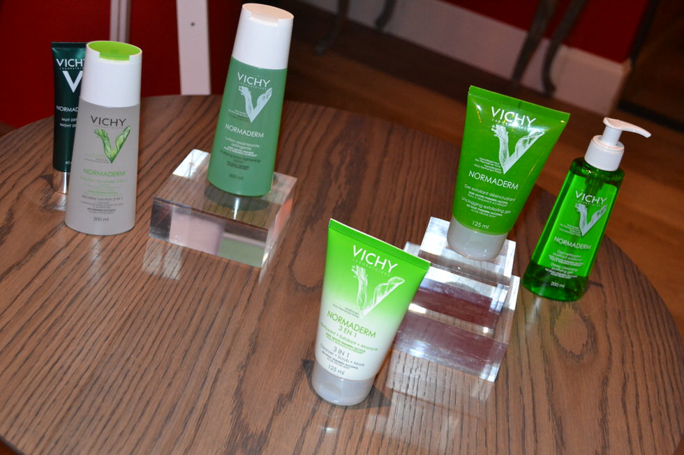 vichy-normaderm-press-event