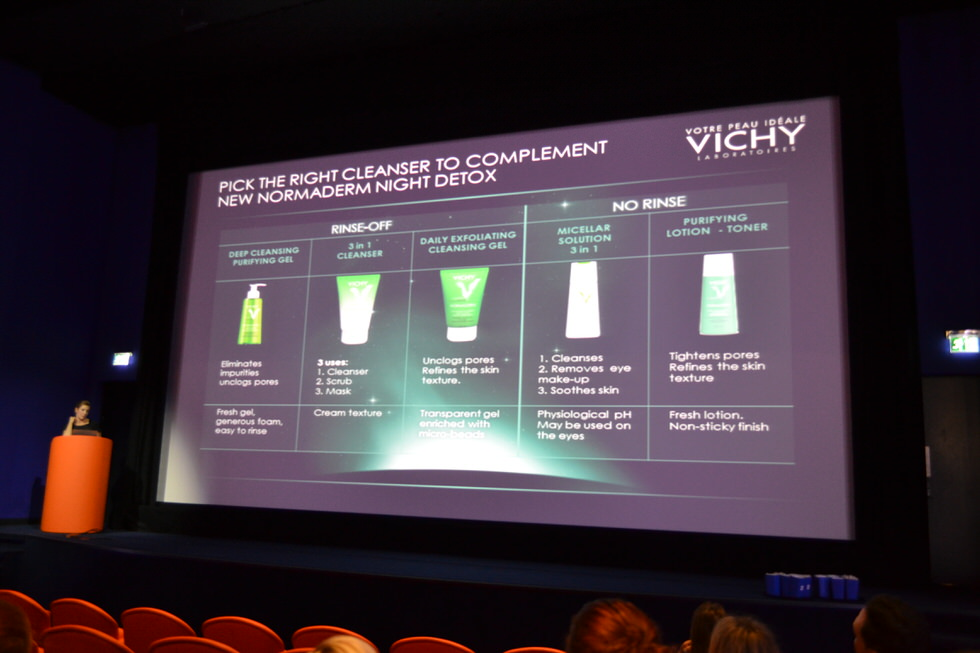 Vichy Normaderm press event