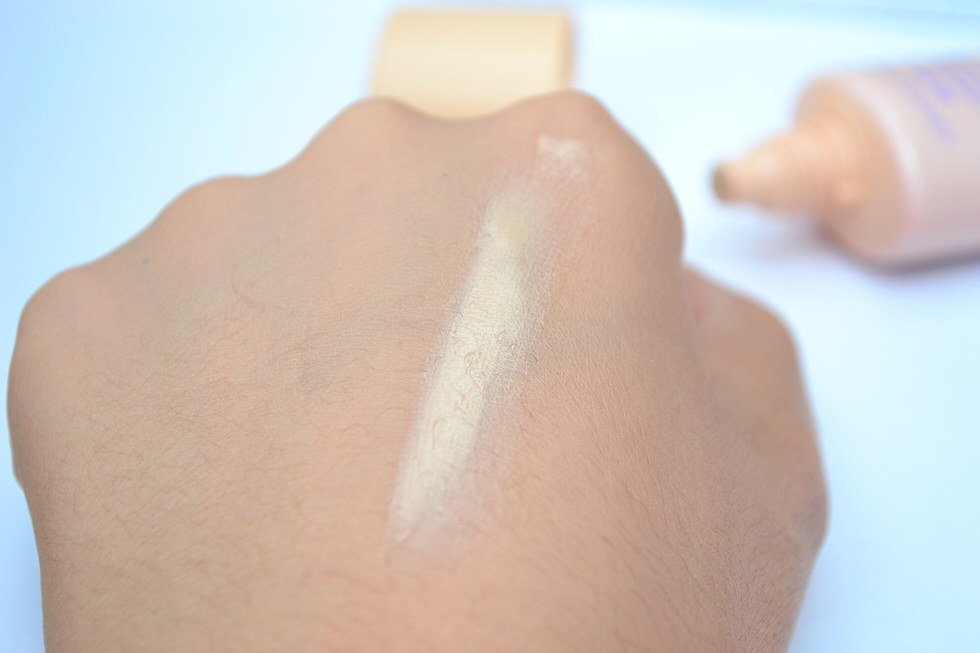Essence All-In-One CC Cream Review Swatch