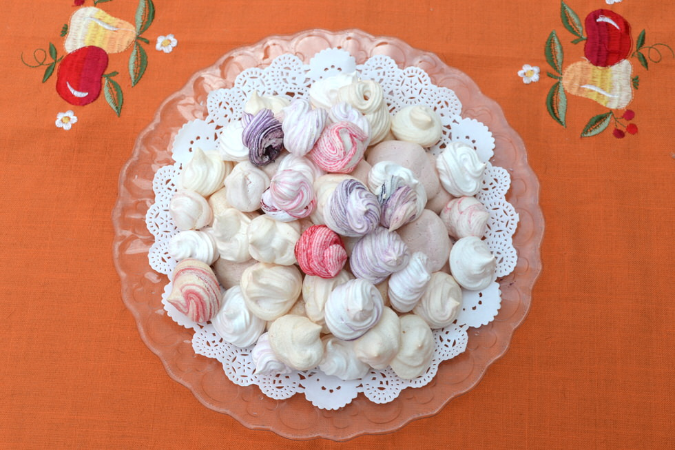Colourful Meringue Recipe