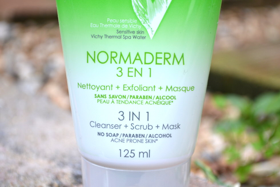 Vichy Normaderm 3-in-1 Cleanser, Scrub and Mask Review