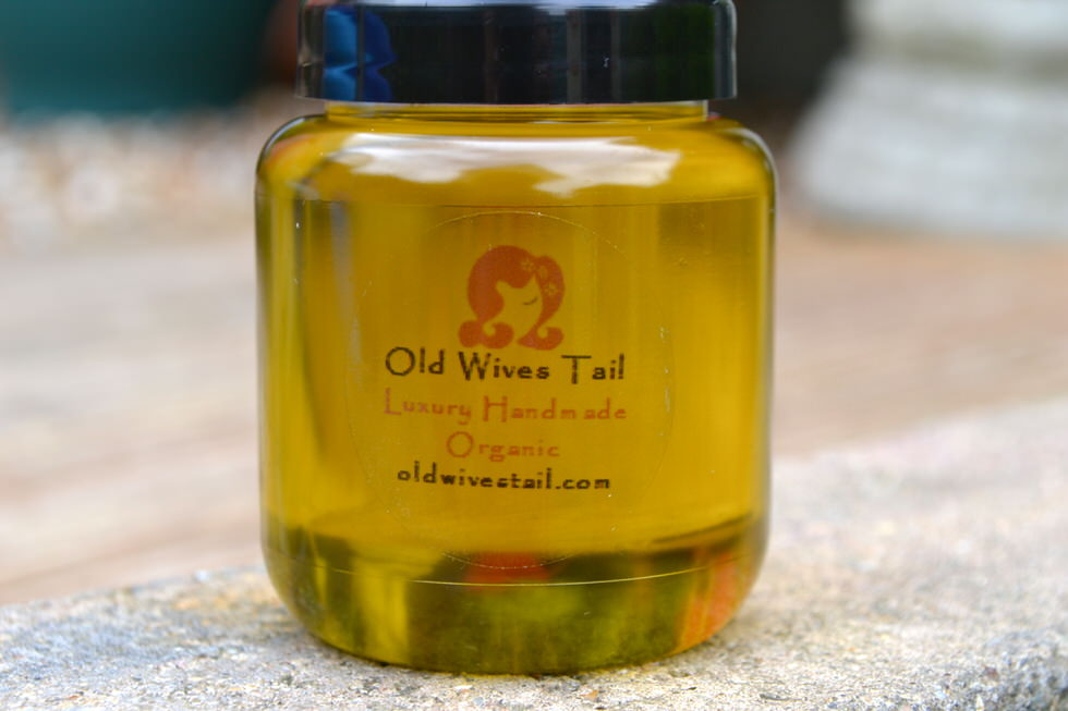 Melado Organic Hair Growth Oil Treatment - Old Wives Tail