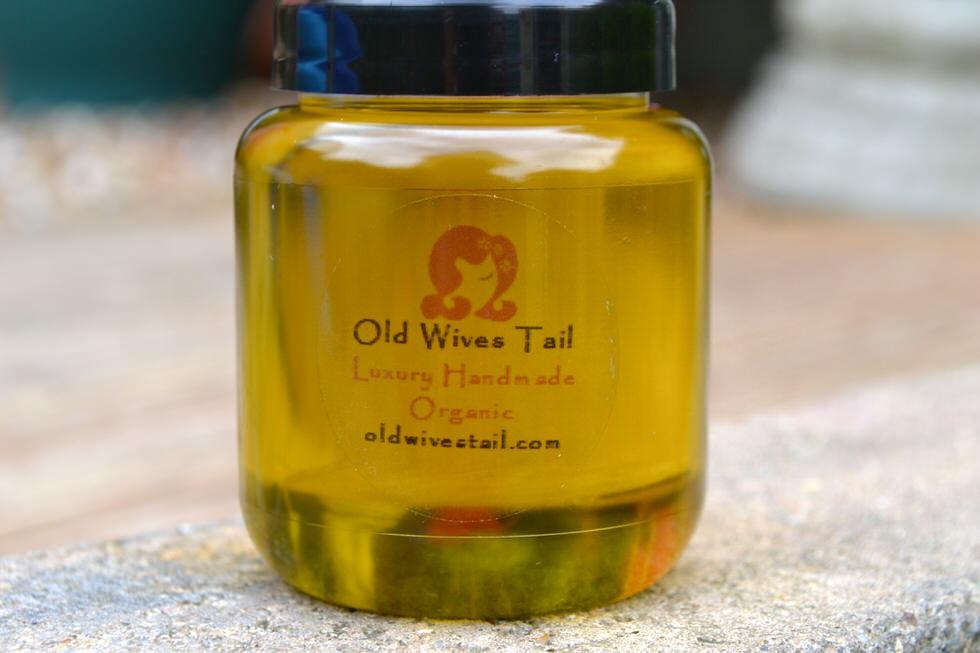 Melado Organic Hair Growth Oil Treatment - Old Wives Tail