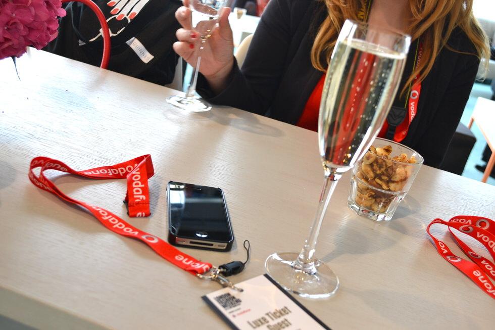 London Fashion Week Vodafone